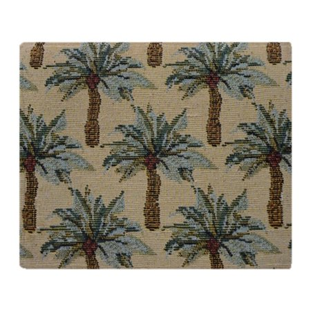 CafePress - Palm Trees Fabric Pattern - Soft Fleece Throw Blanket, 50