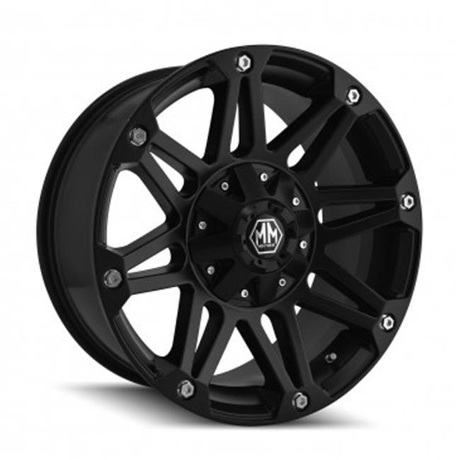 MAYHEM 8010-7885MB 5-139.7 PCD Riot Matte Black Wheel