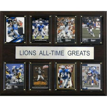 C & I Collectables 1215ATGLION NFL Detroit Lions All-Time Greats plaque - image 1 de 1