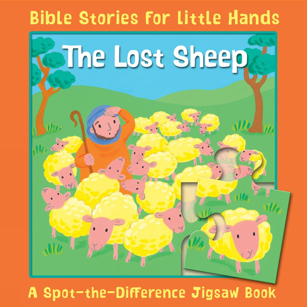 The Lost Sheep : A Spot-the-Difference Jigsaw Book