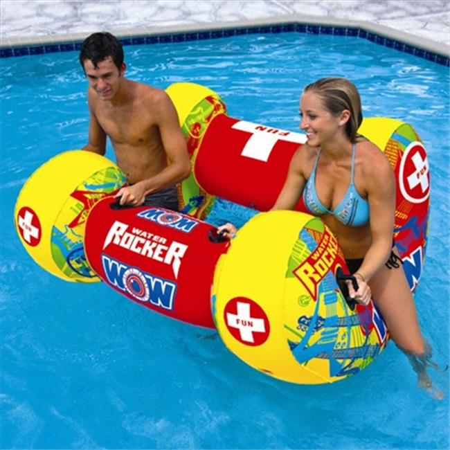 Wow Sports 14-2100 Water Rocker Inflatable And Towable