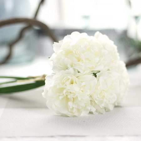 Womail Artificial Silk Fake Flowers Peony Floral Wedding Bouquet ...