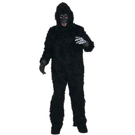 Adult Gorilla Suit Costume Rubies 1622 (Gorilla Suit Costume)