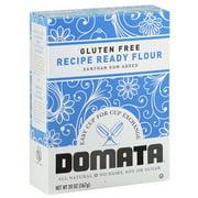 Domata Gluten Free Recipe Ready Flour, 20 oz, (Pack of 6)