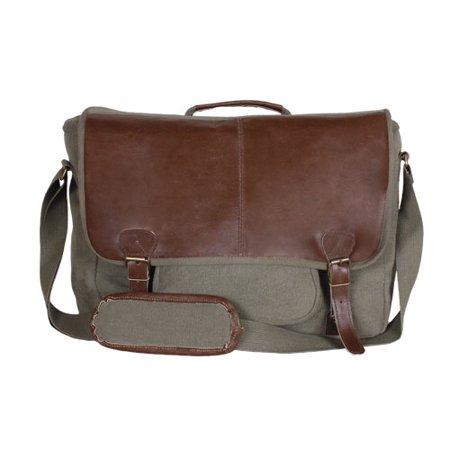 Outdoor Olive - Graduate Satchel Briefcase - Olive Drab - Outdoor