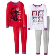 Ever After High Big Girls' Character 4-Piece Pajama Set