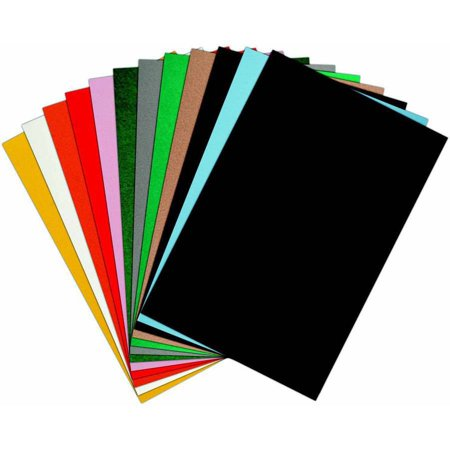 CPE EZ Stiffened Felt, Multiple Sizes, Assorted Color, Pack of 25