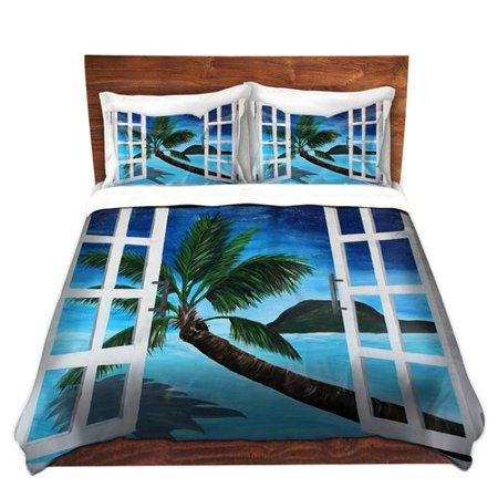Bay Isle Home Crags Markus Bleichner Window To Paradise Microfiber Duvet Covers
