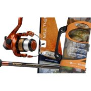 Ready 2 Fish Telescopic Multispecies Telescopic Spinning Combo with 45-Piece Tackle Box
