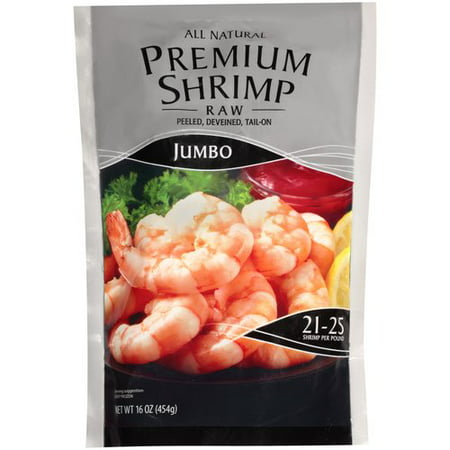Jumbo Raw Shrimp 16 oz - Walmart.com