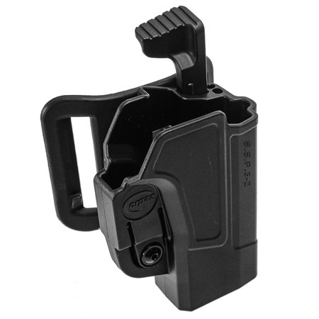 Orpaz Smith & Wesson M&P 9mm Holster Fits S&W M&P 40 and 9mm, Level 2 Belt