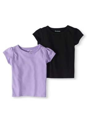 c0a8b6f3fc974c Product Image Baby Girls  Short-Sleeve Solid T-Shirts