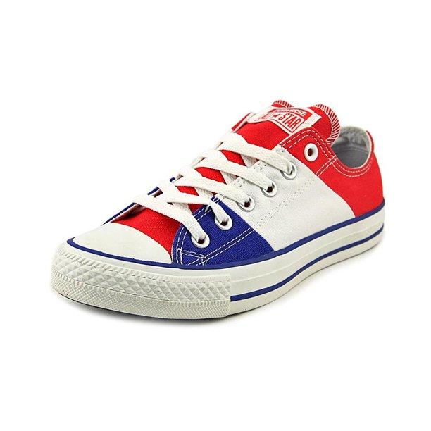 Converse Chuck Taylor Tri Panel Red/Wht/Blu Sneaker Men's 11M/Women's 13M
