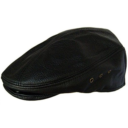 Leather Ivy Riding Ascot Black Large