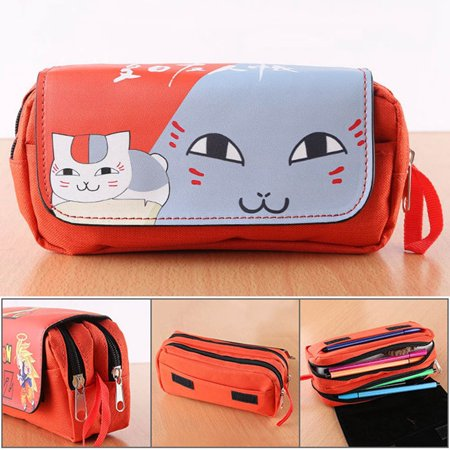 Ghoul Make Up (AkoaDa Anime Tokyo Ghoul Pencil Case Pencil Holder Makeup Bag Stationery Pouch Pen Bag(Natsume)
