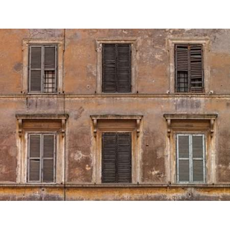 Old rustic building in Rome Italy Poster Print by  Assaf (Rustic Italian)