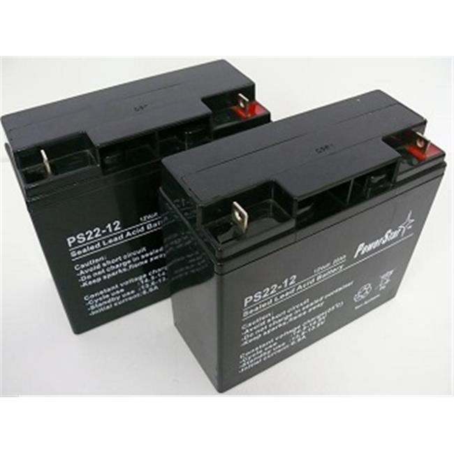 Powerstar PS12-22-2Pack9 Battery New Replaces 51814 6fm17...