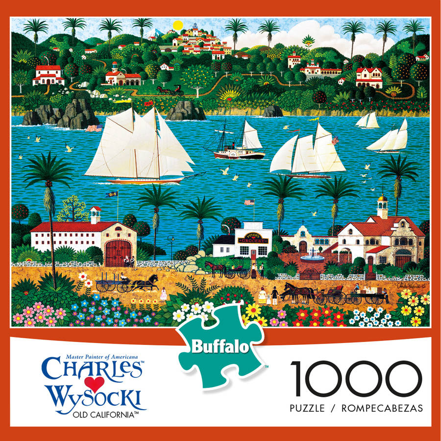 Buffalo Games 1000-Piece Puzzle, Wysocki: Old California by Buffalo Games