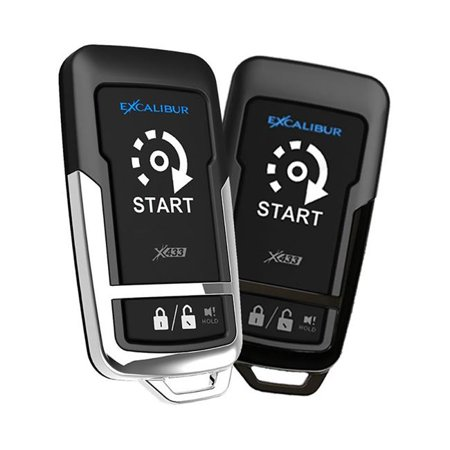 Excalibur Alarms RS272 1500 ft. 1 Plus 1 Button Remote Start Keyless Entry System - image 1 de 1
