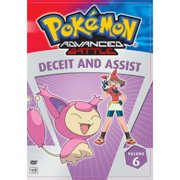 Pokemon Advanced Battle, Vol.6: Deceit And Assist (Full Frame) by Viz Media