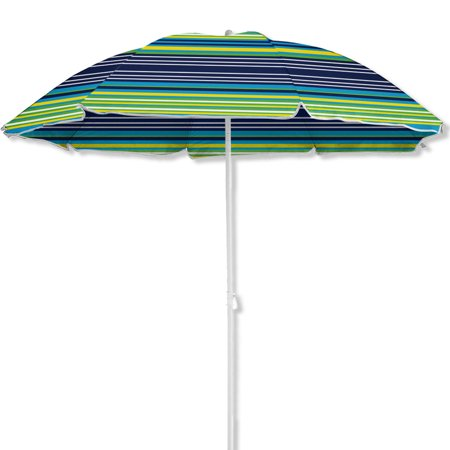 6 Beach Umbrella Uv Protection With Color Matching Carry Case