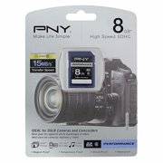 PNY Performance 8 GB High Speed SDHC Class 6 Memory Card