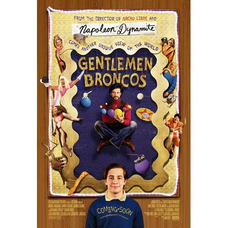 Gentlemen Broncos POSTER Movie Mini Promo - Broncos Birthday