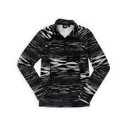 Fila Womens Zebra Quarter Zip Hoodie Sweatshirt