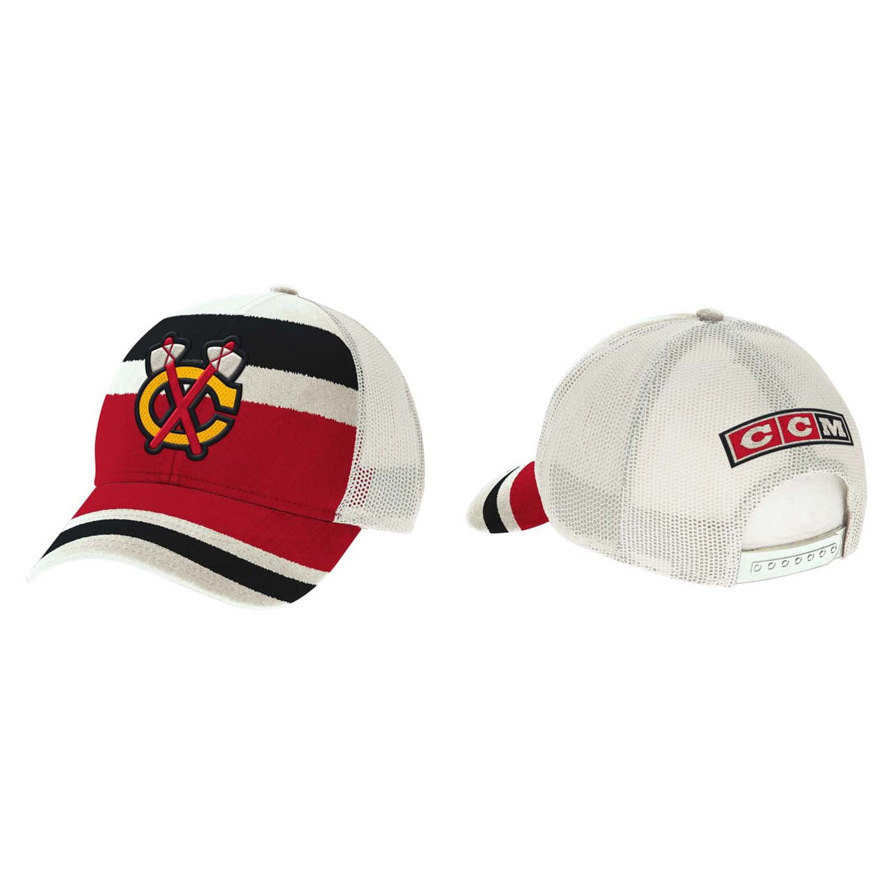 Chicago Blackhawks Adult CCM Winter Classic Meshback Cap Team Color by Reebok