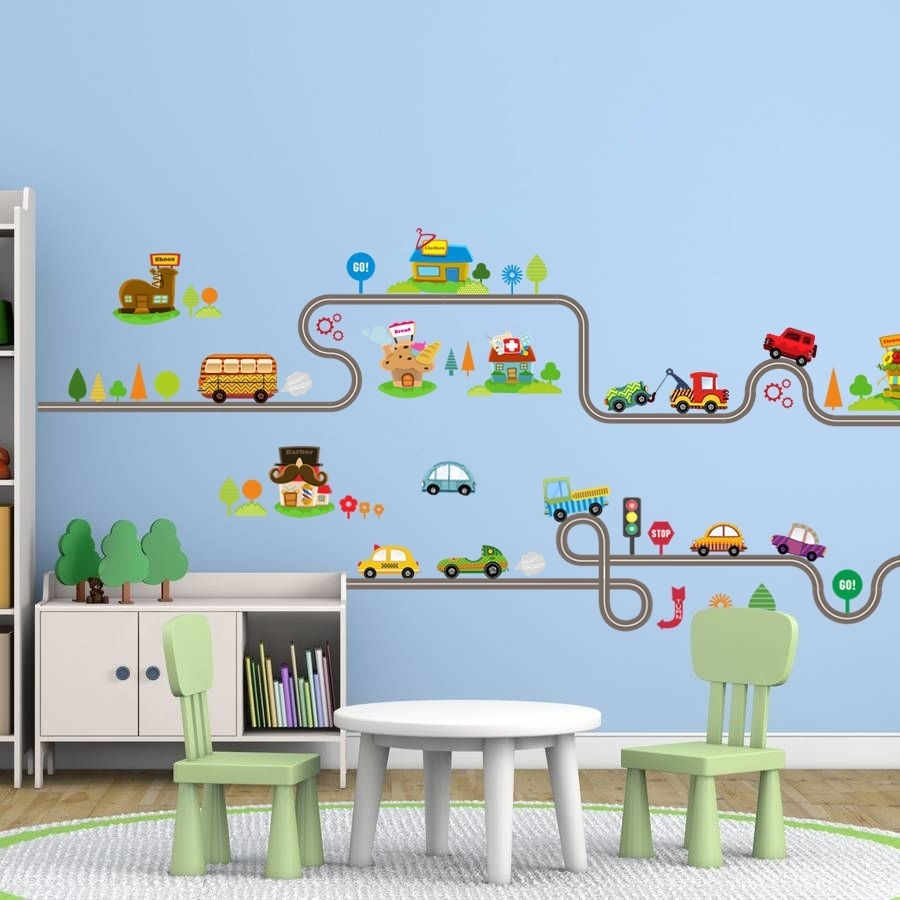 Removable Animal Car Wall Sticker Children Bedroom Nursery Wall Decals Decor