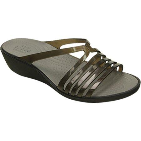 5010d4edae17 Crocs - Crocs Isabella Mini Wedge Women Open Toe Synthetic Wedge Sandal -  Walmart.com