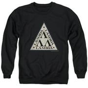 Revenge Of The Nerds Tri Lambda Logo Mens Crewneck Sweatshirt
