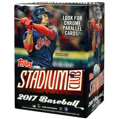 2017 Topps Stadium Club MLB Trading Card Blaster Box