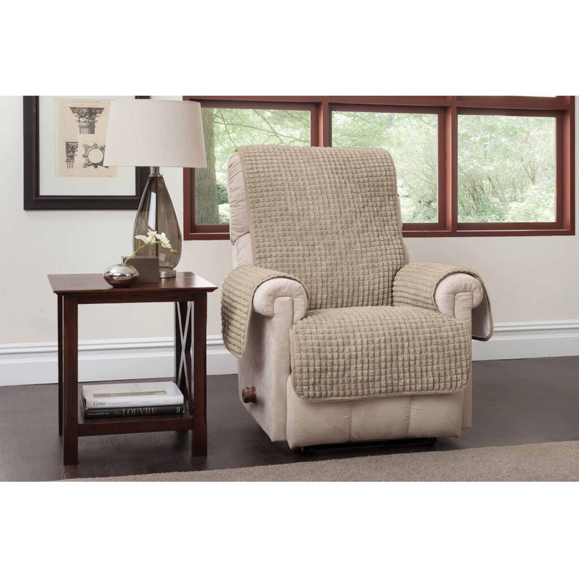 Innovative Textile Solutions Puff Recliner or Wing Chair Protector  sc 1 st  Walmart & Innovative Textile Solutions Puff Recliner or Wing Chair Protector ... islam-shia.org