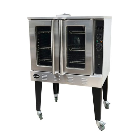 Heavy Duty Commercial Stainless Steel, Free Standing Gas Convection Oven Gas Stove Convection Oven