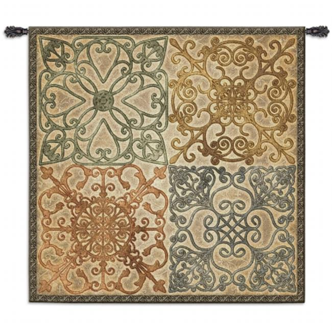 FineArtTapestries 4049-WH Wrought Iron Elegance Large Wall Tapestry by Supplier Generic