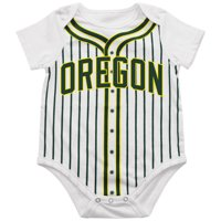 Oregon Ducks Colosseum Infant Fastball Bodysuit - White