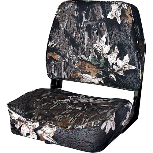 Wise Folding Boat Seat, Break Up Camo