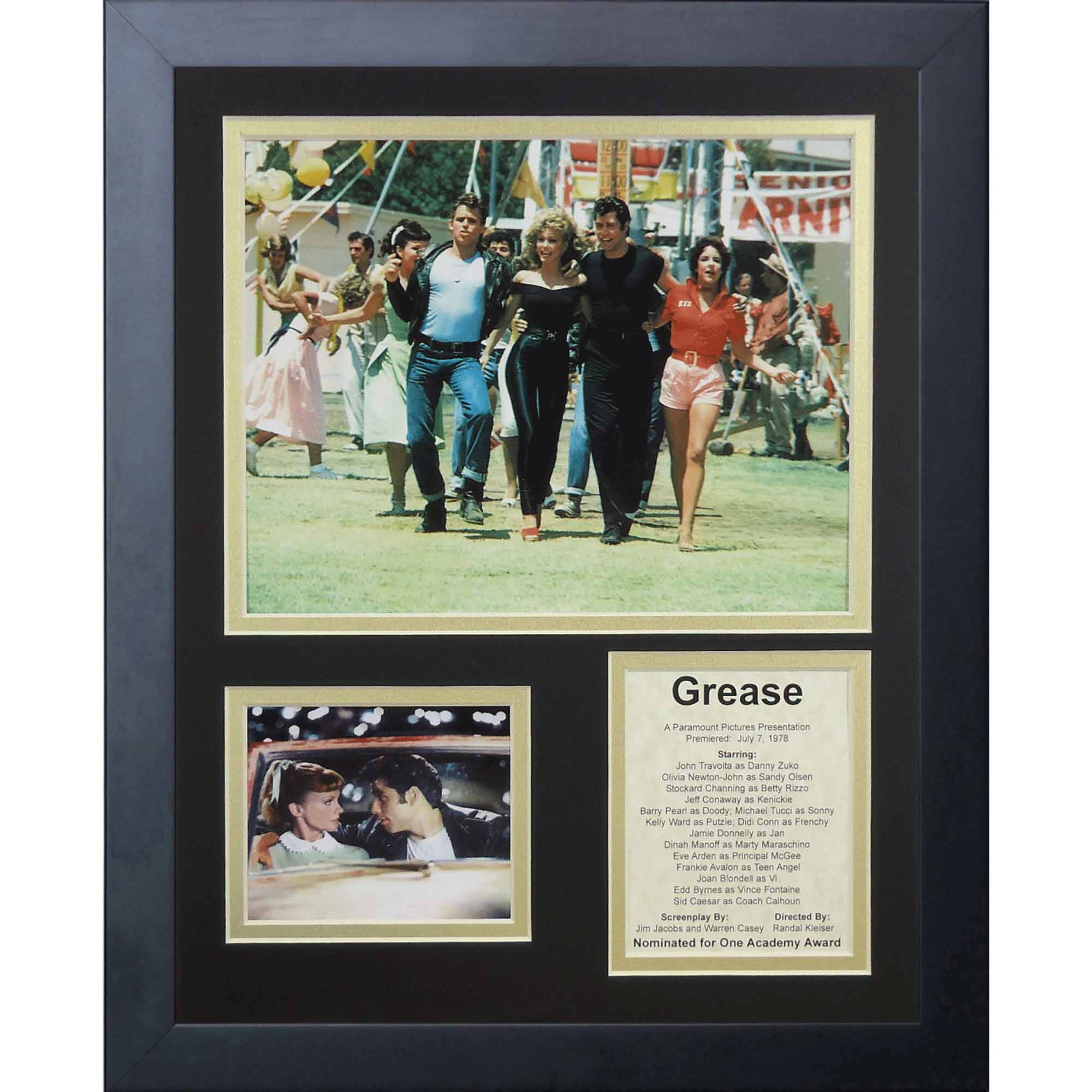 "Legends Never Die Grease II Framed Photo Collage, 11"" x 14"""