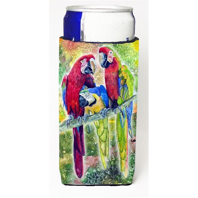 Carolines Treasures 8601MUK Parrot Parrot Head Michelob Ultra bottle sleeves for slim cans 12 oz. - image 1 de 1