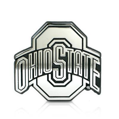 Ohio State University Chrome Car Emblem