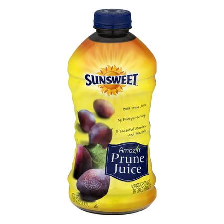 (6 Pack) Sunsweet Amazin Prune Juice, 48.0 FL OZ