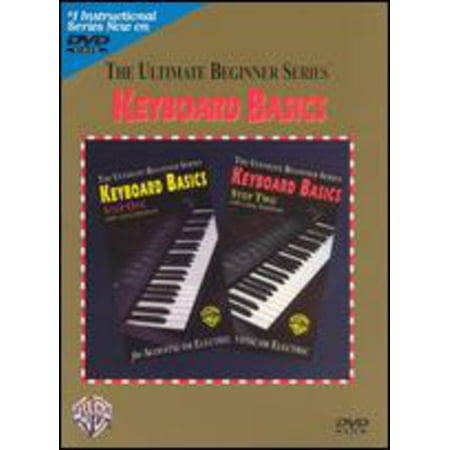 Ultimate Beginner Series: Keyboard Basics, Steps One and Two -