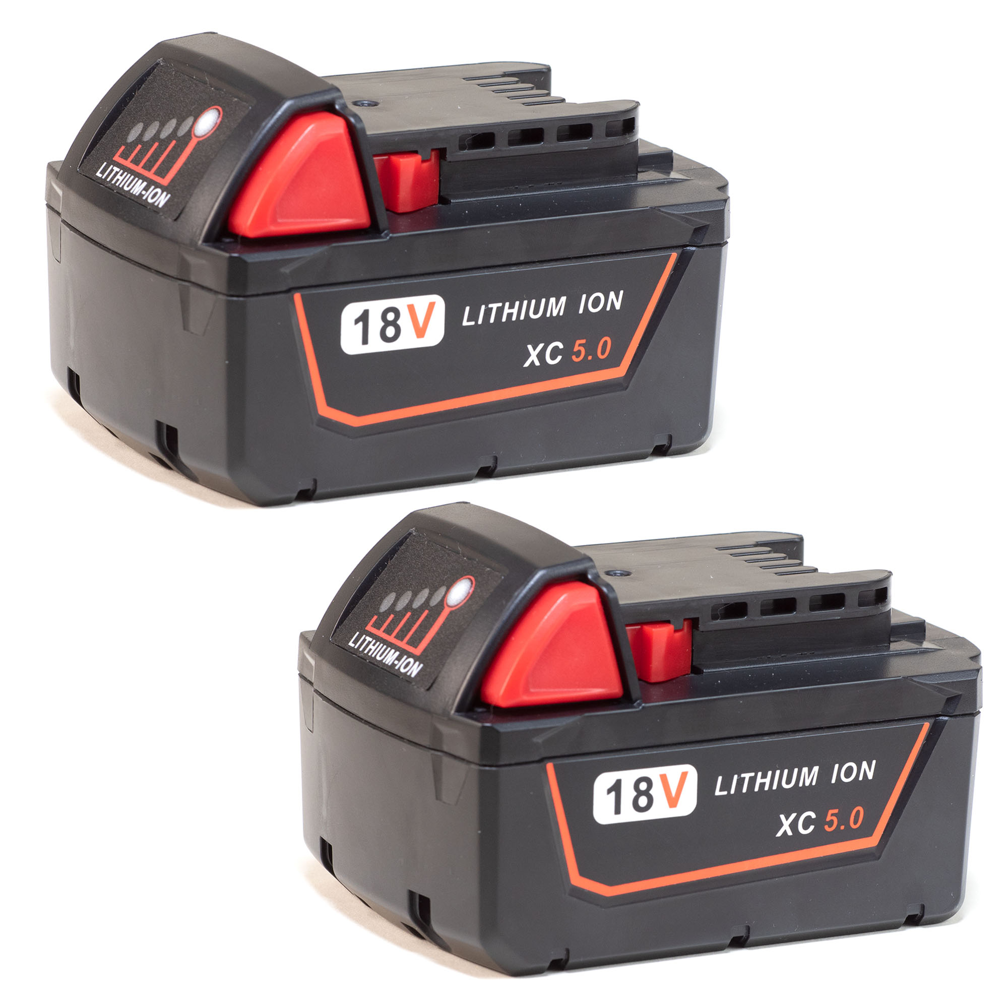 Replacement for Milwaukee M18 REDLITHIUM 5.0 Battery - 48-11-1850 (2 Pack)