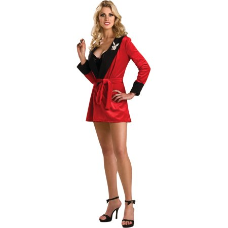 Adult Women's  Playboy Girlfriend Robe Costume