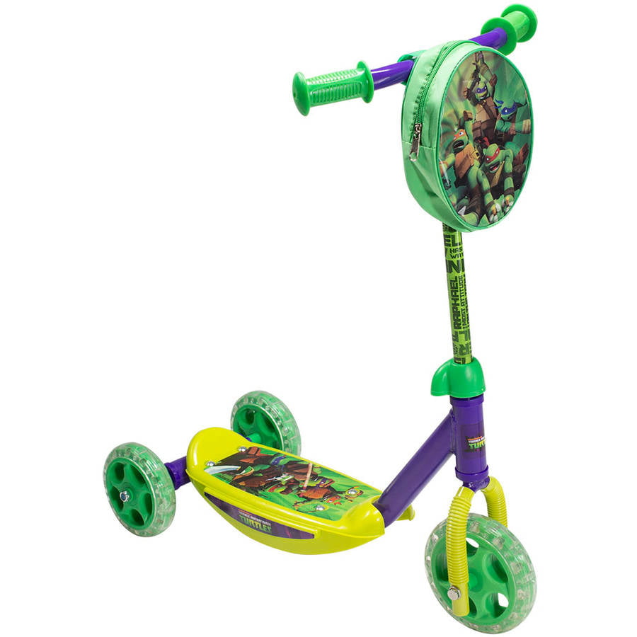 Teenage Mutant Ninja Turtles 3-Wheel Scooter by Bravo Sports