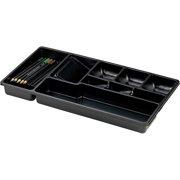OIC Economy Drawer Tray, Black, 1 Each (Quantity)