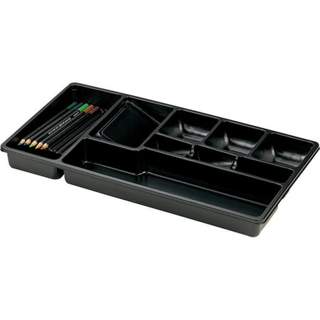 Desk Drawer Tray (OIC, OIC21312, Economy Drawer Tray, 1 Each, Black )