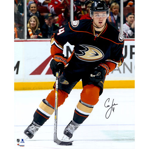 """Cam Fowler Anaheim Ducks Fanatics Authentic Autographed 16"""" x 20"""" Vertical Skating With Puck Photograph No... by Fanatics Authentic"""