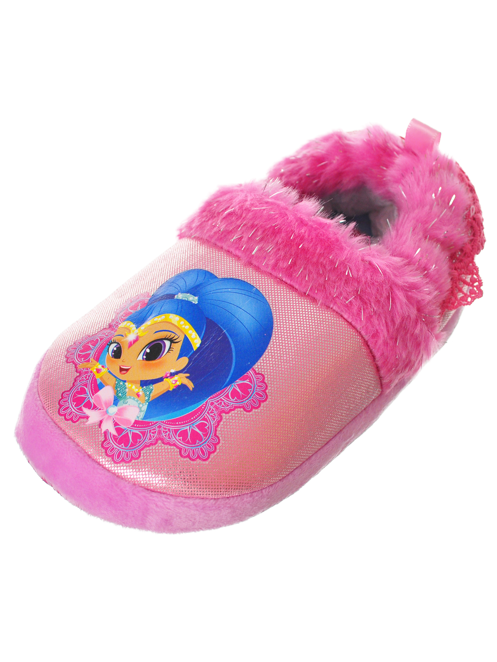 Shimmer and Shine Girls' Slippers (Sizes 7 - 12)